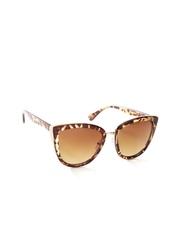 FOREVER 21 Women Animal Print Cat Eye Sunglasses 171600