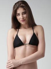 FOREVER 21 Black Padded Bikini Bra 185746