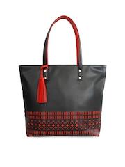 Toteteca Black & Red Shoulder Bag