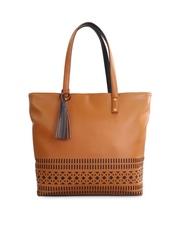 Toteteca Tan Brown Shoulder Bag
