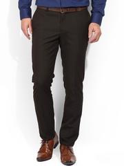 Blackberrys Brown Smart Fit Formal Trousers