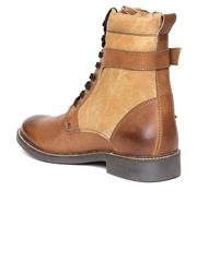 Knotty Derby Men Tan Brown Boots