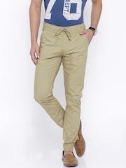 Sports52 Wear Khaki Jogger Trousers