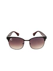 Clark N Palmer Unisex Gradient Browline Sunglasses CNP-TB133-B3