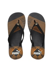 PUMA Men Black Printed Flip-Flops