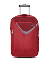 Safari Unisex Red Victory Small Trolley Bag