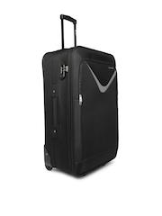 Safari Unisex Black Victory Large Trolley Bag