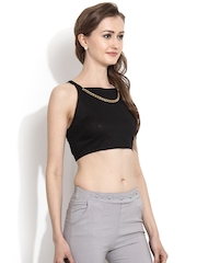 MSMB Black Crop Top