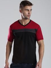 HRX by Hrithik Roshan Black & Red Training T-shirt