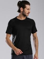 HRX by Hrithik Roshan Black Active Training T-shirt