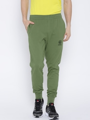 Reebok Classic Olive Green Foundation Track Pants
