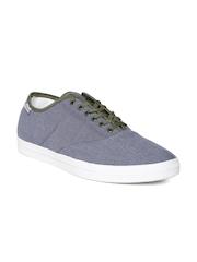 Reebok Classic Men Blue Tenstall Canvas Shoes