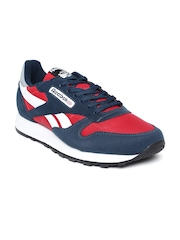 Reebok Classic Men Red & Navy Electro Sports Shoes