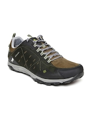 Columbia Men Olive Green Conspiracy Razor Outdry Sports Shoes