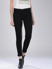 Levi's Black Super Skinny Fit 710 Jeans
