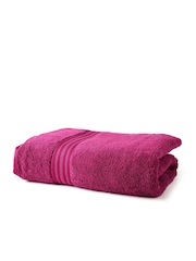 SPACES Magenta 100% Cotton Bath Towel