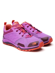 The North Face Women Purple Ultra Fastpack Hiking Shoes