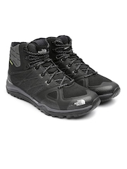 The North Face Men Black Ultra Fastpack II Hiking Shoes