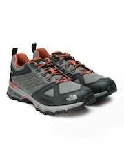 The North Face Men Grey Ultra GTX Hiking Shoes