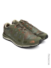 The North Face Men Olive Green Printed M2M Training Shoes