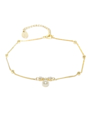 FunkyFish Gold-Toned Anklet