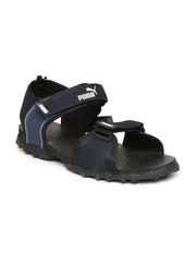 PUMA Men Navy & Black Rio Sports Sandals