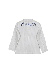 Lilliput Boys White Striped Blazer