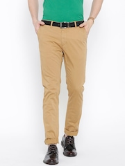 Solly Jeans Co. Khaki Casual Trousers