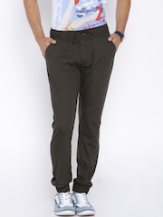 FIFTY TWO Brown Jogger Trousers