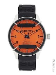 Superdry Men Orange Dial Scuba Pop Watch SYG124O
