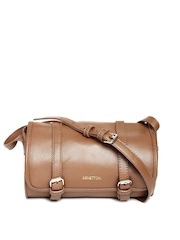 United Colors of Benetton Brown Sling Bag