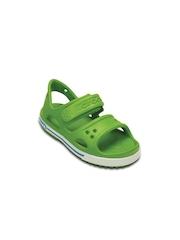 Crocs Boys Green Sandals