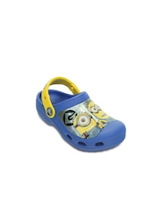 Crocs Boys Blue Printed Clogs