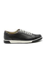 Cole Haan Men Black Vartan Sport Leather Casual Shoes