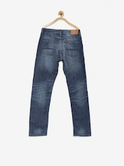 Indian Terrain Boys Blue Washed Jeans