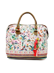 Accessorize Multicoloured Printed Oversized Handbag