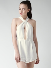 FOREVER 21 Off-White Playsuit