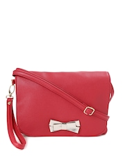 Caprese Dark Pink Christina Sling Bag