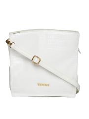 Caprese White Oversized Sling Bag