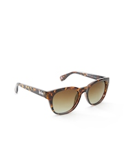 Lee Cooper Unisex Polarised Animal Print Square Sunglasses LC9088SXB