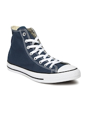 Converse Unisex Navy High-Top Sneakers