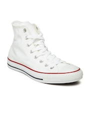 Converse Unisex Off-White High-Top Sneakers