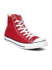 Converse Unisex Red High-Top Sneakers