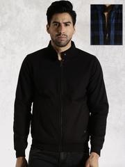 Roadster Black & Blue Reversible Jacket