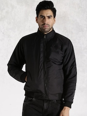 Roadster Black Padded Jacket