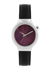 Fastrack Women Purple Printed Dial Watch 6149SL01