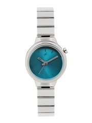 Fastrack Women Blue Printed Dial Watch 6149SM01