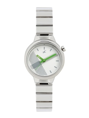 Fastrack Women Off-White Dial Watch 6149SM03