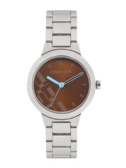 Fastrack Women Brown Printed Dial Watch 6150SM02