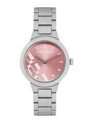 Fastrack Women Pink Dial Watch 6150SM04